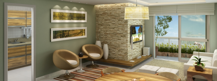 Residencial FLORA / Living